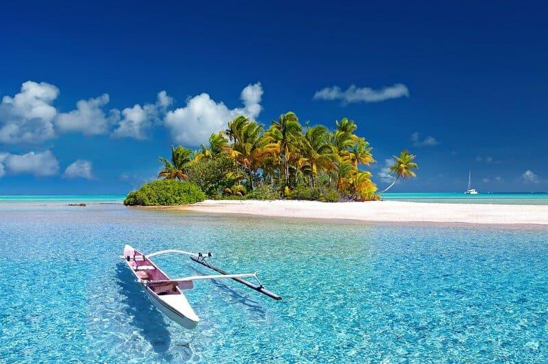 Prestito tempo libero Findomestic - foto isola della Polinesia
